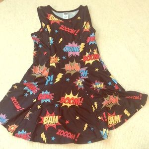 "Super cute girls ""superhero"" swing dress!"